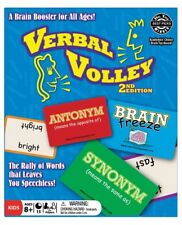 Verbal Volley Game Second Edition Brain Booster ESL Literacy Game Rally of Words
