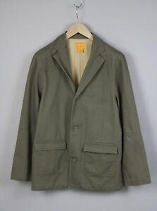 FIELD & STREAM FS09405 Men's MEDIUM Military Canvas Casual  Blazer 18369_JS