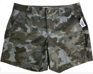 NWT Old Navy Everyday Shorts Camo Mid-Rise Women's Size 8