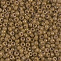 Miyuki Round Rocaille Seed Beads Size 8/0 Opaque Latte 24GM Tube 8-1461