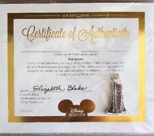 Disney - Sleeping Beauty Evil Queen Collector's Pin with COA - NEW