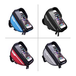 Fahrradtasche NEU Tasche Handy-Halterung Wasserdicht B-Soul Lenkrad Schwarz Blau