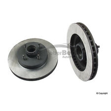 One New OPparts Disc Brake Rotor Front 40518015 for Ford Mustang