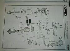 Rupes Carboncini Spazzole Carboni 471.011  mod. TR13 TR102 TR132