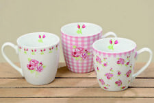 3 Jumbobecher Rose 400 ml Kaffeetassen Spruch Küche Becher 3623900 Tasse Blume