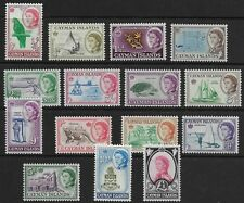 Cayman Islands - SG 165-179 - 1962-64 - Definitive Set of 15 - Unmounted mint