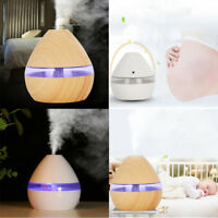 Air Aroma Essential Oil Diffuser LED Ultrasonic Aroma Aromatherapy Humidifier AU