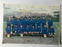 7 Autogramme NATIONALTEAM ITALIEN U21 85/86+DIRCEU (Brasilien †1995)-IN PERSON!