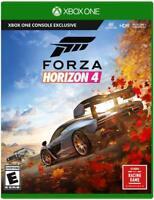 FORZA HORIZON 4 XBOX ONE + X NEW! NEED FOR SPEED RACING FUN! CARS SEASONS RACE