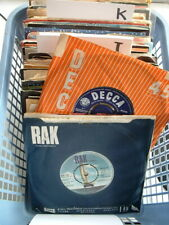 COLLECTION VINYL 7 inch RECORD SINGLES JOB LOT 1960s -1980s YOU CHOOSE 99p each!