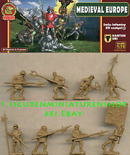 1:72 FIGUREN UR007 Swiss Infantry Kanton Uri Set 1 XV Century - ULTIMA RATIO NEU