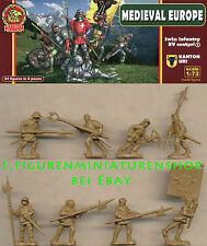 1:72 FIGUREN UR007 Swiss Infantry Kanton Uri Set 1 XV Century - ULTIMA RATIO