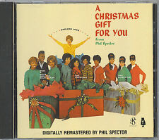 PHIL SPECTOR - A CHRISTMAS GIFT FOR YOU - MINT CD -1989