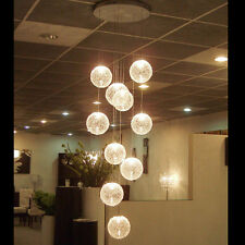 Contemporary Ceiling Lamp Fixture 10 Lights Wire Ball Lighting Chandelier Room