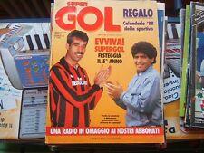 SUPERGOL=N°48 1988=GIGI RIVA=ZENGA=TYSON=LIVERPOOL=REAL MADRID