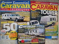 **BRAND NEW CARAVAN TOURER, ESSENTIAL CARAVAN & CARAVAN ON TOUR QUEENSLAND DVD**