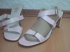 Damenschuh High Heel Sandalette aus Kunstleder NEU Gr. 42 in roséfarben