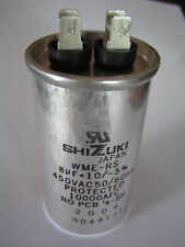 Shizuki Capacitor Motor Run Metallised/Poly 450VAC 8uf OL0616