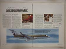 11/1981 PUB GRUMMAN AVIATION GULFSTREAM III BIZJET CHARLES COPPI FRENCH AD
