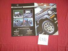 N°5352 / dépliant du préparateur STARTECH pour Jeep