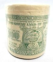 VINTAGE 1999 One ROLL $100 Hundred Dollar Bill Bathroom Toilet Tissue Rare NEW