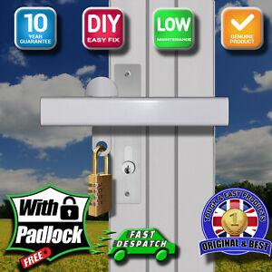 Patio SINGLE Handle Door Lock High Security, KEYLESS Padlock, Left Fitting L