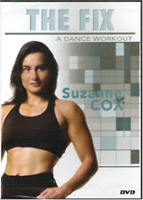 The Fix - A Dance Workout Video dvd Suzanne Cox 3 20 minute work outs