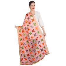Wrap For Indian & Pakistani Weeding Dress Formal Rose Long Scarf Shawl