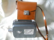 KODAK CINE RELIANT MOVIE CAMERA W/ LEATHER CASE WORKS