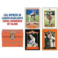 Cal Ripken Jr. Career Highlights Box Set, 2001 Fleer, 60 Card Set,Limited Ed.