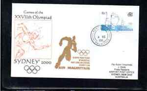 AIR MAURITIUS OLYMPIC FLIGHT PORT LOUIS - SYDNEY 2000