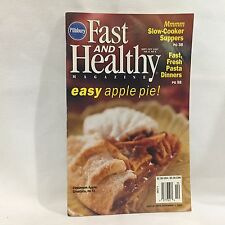 Pillsbury Fast & Healthy Cooking Magazine Cookbook  Free Shipping
