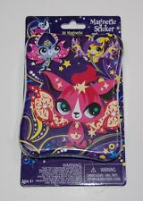 Littlest Pet Shop Magnetic Sticker Play Set w/ 4 Scenes Moonlite Fairies Tin LPS