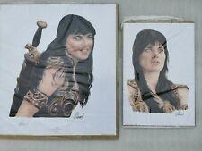 More details for 2 xena warrior princess limited edition rare  fantasy  art prints