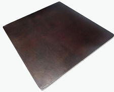 Mexican Square Copper Table Top Hand Hammered 36 Inches Dark Patina