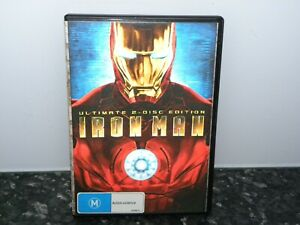 ULTIMATE 2-DISC EDITION - IRON MAN DVD - 2 DISC - VGC