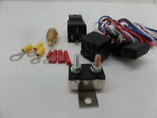 FAN THERMOSTAT KIT TEMP SENSOR TEMPERATUR​E RELAY KIT # 3102