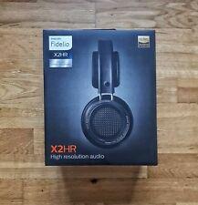 Philips Fidelio X2HR High Resolution Headphones, Black, BRAND NEW & SEALED