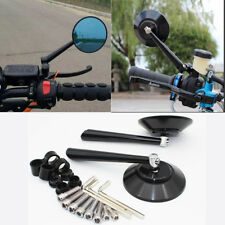 Motorcycle Aluminum Side Mirror Round Rearview Mirror For Monkeys Scooter Bike