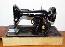 Vintage Singer 99K Electric Sewing Machine & Case - No Pedal - Spares/Repairs