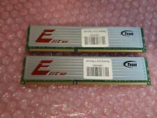Team Group Elite 8GB (2x4GB) 1333 MHz DDR3-1333 PC3-10600U RAM TED34G1333HC9BK