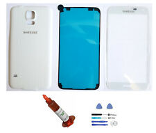 White front glass lens back cover Galaxy S5 replacement LCD Digitizer Repair kit