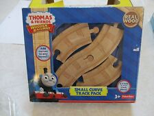 Thomas & Friends Train Set NEW Small Curve Track Pack Real Wood 3.5 inch 4 piece