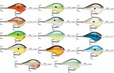 Rapala DT20 Series 2 3/4 inch Metal Deep Diving Crankbait DT Bass Fishing Lure