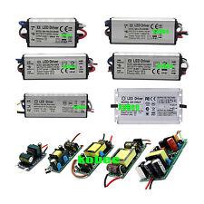 Waterproof LED Chip Driver Power Supply Transformer AC 85-265V-DC9V-38V 3-100W