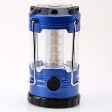 Portable 12LED Camping Bivouac Hiking Tent Lantern Fishing Light Lamp+Compass TR
