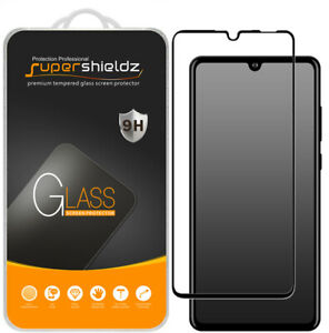 2X Supershieldz Full Cover Tempered Glass Screen Protector for Huawei P30 Lite