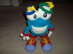 "Vintage Rare WHATIZIT 1996 Olympic Games Atlanta Official Mascot Plush 14"" Tall"