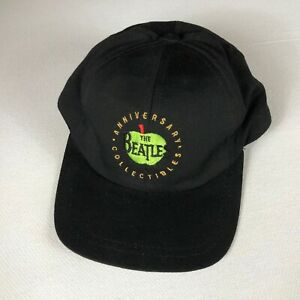 The Beatles Snapback Hat VTG Cap USA Made Anniversary Collectibles Apple Adult