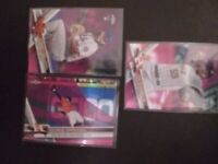 Joe musgrove rc  2017 topps Chrome pink Refractor and 2 Rc cards Mets astros